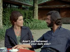 aren't you ashamed to reveal your dark side? | Claire's Knee (1970) - Eric Rohmer