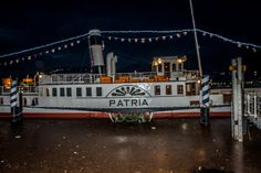 DS Patria, Lago Como 2014 Lake Como, Spaces, Fun, Travel, Viajes, Trips, Traveling, Tourism, Funny