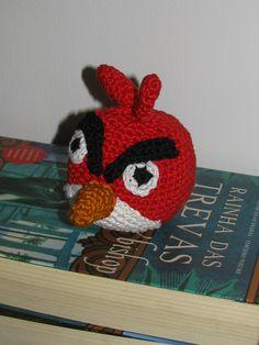 Amigurumi Angry Birds - Red  Padrão de lanasyovillos