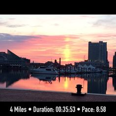 Love this FitSnap shot of running in Baltimore! Download FitSnap today from the iPhone App Store to start creating your own inspirational pictures!