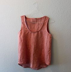 How to Sew a Tank Top