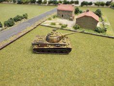 German Löwe paper tank