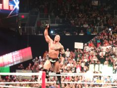 Pic I took of The Rock at Royal Rumble in Phoenix 2013. It was awesome!