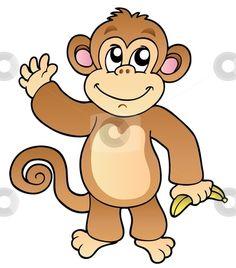 Affe Malvorlage Kostenlos Affen Ausmalbilder 7
