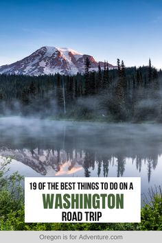 Washington is a beautiful state and it is best seen by taking a road trip. Waterfalls, deserted beaches, coastal rainforest, alpine mountains, even desert - Washington has it all. Find out the 19 best things to do on a Washington Road Trip and get planning! | Where in the World is Nina? #washington #roadtrip #usaroadtrip