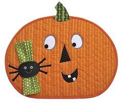 Halloween Place Mat Pumpkin Pattern