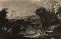 Rest on the Flight into Egypt by Salvator Rosa