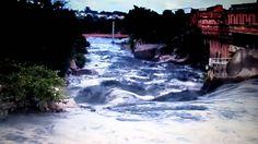 Rio Tietê está com água marrom