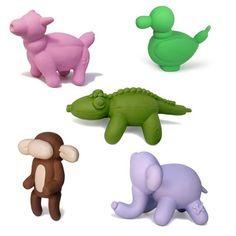 Fab.com | Charming Pet: Jungle Balloon Dog Toy Set Mini