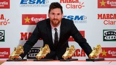 Barcelona's Lionel Messi avoids talk of new contract at Golden Shoe awards  ||  Lionel Messi avoided the chance to clear up the doubts about his Barcelona contract situation as he accepted the European Golden Shoe award on Friday. http://www.espnfc.com/barcelona/story/3282496/lionel-messi-avoids-talk-of-new-barcelona-contract-at-european-golden-shoe-awards?utm_campaign=crowdfire&utm_content=crowdfire&utm_medium=social&utm_source=pinterest