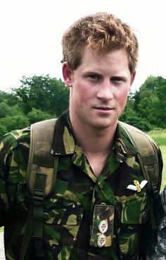 Army AND royalty = gingerness forgiven