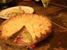 Gluten free pot pie.  Looks yummy!!
