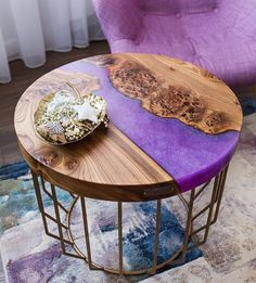 Best wood river table des - Wood How to Crafts Wood Resin Table, Epoxy Resin Table, Slab Table, Wood Table, Resin Furniture, Funky Furniture, Furniture Design, Deco Boheme Chic, Wood River