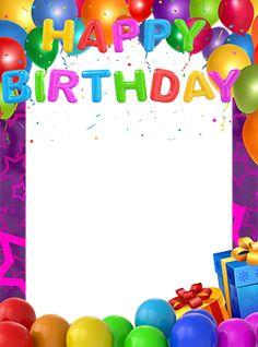 Birthday Wishes With Photo, Birthday Photo Frame, Happy Birthday Frame, Happy Birthday Video, Cool Birthday Cards, Happy Birthday Pictures, Birthday Frames, Happy Birthday Messages, Happy Birthday Gifts