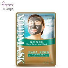 New face skin care face mask mung bean mud masks for moisturizing anti acne & remove blackhead