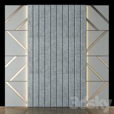 Living Room Wall Designs, Room Design Bedroom, Interior Design Living Room, Wooden Wall Design, Wall Panel Design, Gold Wallpaper Living Room, Bed Back Design, Bed Headboard Design, Feature Wall Bedroom