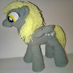 Crochet Derpy Pony