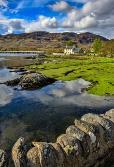 From the stone bridge, Eilean Donan Castle, Scotland