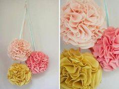 Flores de tela y fieltro para decorar nuestros dormitorios
