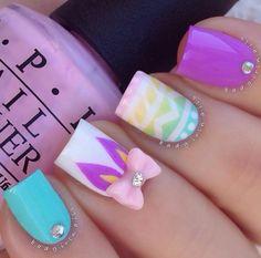 robin moses valentine nail art