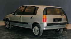 OG | 1991 Citroën ZX - Project N2 | 2nd in-house design proposal from Olsen's Team in 1989