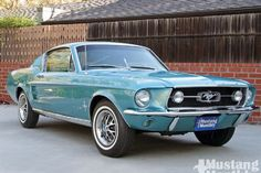 Mump 1006 01 O 1967 Ford Mustang Fastback Front View