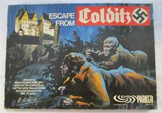 Escape from Colditz by Parker games, the classic board game from the 1970 1970s Childhood, My Childhood Memories, Childhood Toys, Magic Memories, Retro Toys, Vintage Toys, Vintage Stuff, Gi Joe, Game Design