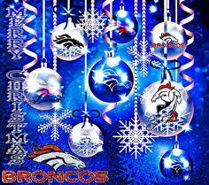 Christmas Broncos style