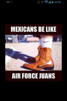Mexicans be like....