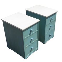 Pair Of Mid 19th-Century Upcycled Bedside Cabinets £345