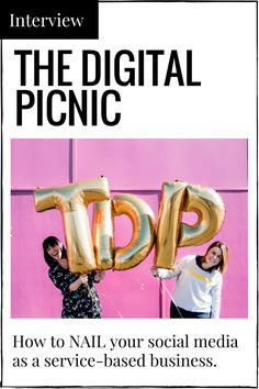 The Digital Picnic teach good social media. It's their bread and butter - or their jam as owners Cherie and Catherine like to say (a considerably tastier analogy). Their social media workshops are chock full of students who know why social media is so damn important, but are a little miffed with how to really nail it.  I got some expert advice from them on some of the biggest questions service-based providers have on their mind when it comes to social media.. well, 'stuff'.