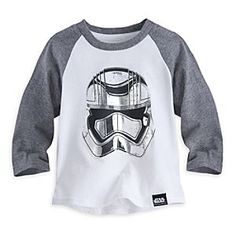 Disney Star Wars: The Force Awakens Stormtrooper T-Shirt For Kids | Disney StoreStar Wars: The Force Awakens Stormtrooper T-Shirt For Kids - Our Stormtrooper T-shirt for kids inspired by Star Wars: The Force Awakens, with raglan sleeves and silver screen art, is the perfect fit for your trooper in training.