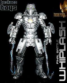 WHIPLASH (Final Battle) (Marvel Legends) Custom Action Figure