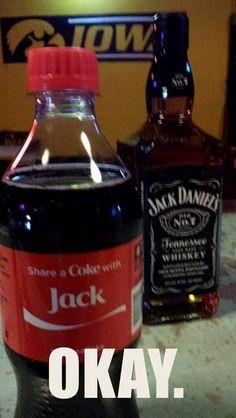 Coke Jack Daniels