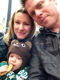 Eating BeaverTails pastries while wearing a beaver hat - DOUBLE WIN! This photo is too cute!  via @FlemingRobyn