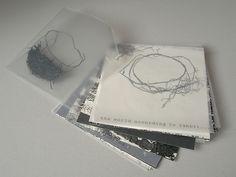 """Eva Francova """"World according to rabbit"""", intaglio, relief,wire, paper, 18x18, 2006"""