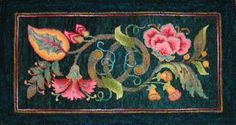 hooked rugs | ... ' design by Jane McGown Flynn ~ hooked ... | Rug Hooking - Flo