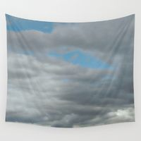 Wall Tapestry featuring Cloud Canopy by Stone Twig Studio