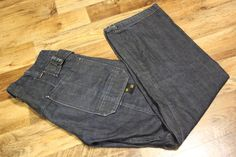 Mens 'G-STAR' S.C. DEXTER CHINO LOOSE Dark Blue Jeans Size W32 L32 #GStar Gstar, Dark Blue Jeans, Vintage Jeans, Dexter, Jeans Size, Pants, Men, Ebay, Clothes