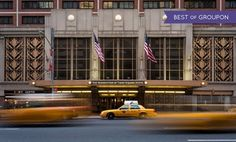Groupon - Stay at The Manhattan at Times Square Hotel, includes Free Grab n' Go Breakfast. Dates Available into April. in New York, NY. Groupon deal price: $109