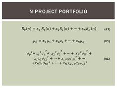 Project Management Crumbs: Portfolio Management - A Financial Approach - Part 4