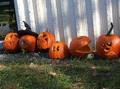 10 Amazing Pumpkin Carving Ideas