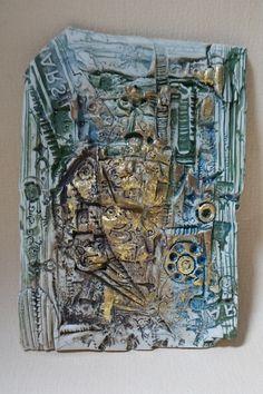 Bas reliefs 1280° - Site officiel de Patricia Rivière, plasticienne