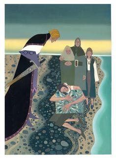 """David Sala - illustration (Jean-François Chabas et David Sala, """"Le Coffre enchanté"""", Casterman, 2011)"""