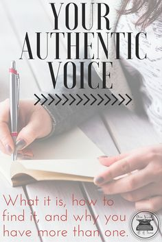Who are you when you're writing? If you're not quite sure, click through for some thoughts on finding your authentic voice. Fiction Writing, Writing Quotes, Writing Advice, Writing Resources, Writing Help, Writing Skills, Writing A Book, Academic Writing, Start Writing