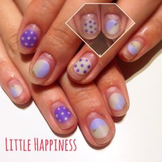 ♡マットドットネイル♡ #ネイル#nail#ネイルアート#原宿#リトルハピネス#LittleHappiness#nailart#マット