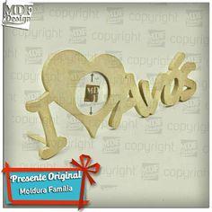 Sugestão de Presente: Moldura I love avós... - http://ift.tt/29XdScI