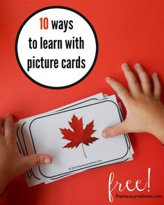 Free Picture Cards for Learning Alphabet Sounds
