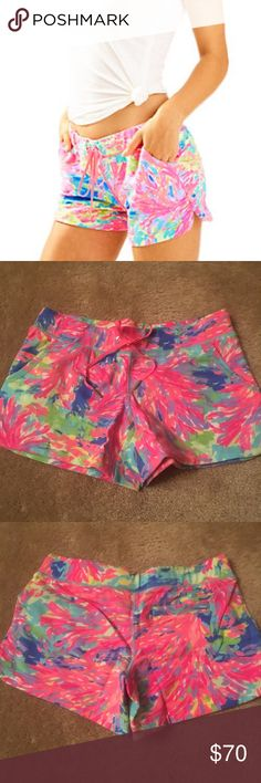 Lilly Pulitzer Vina Short Palm Beach Coral NWT XS Brand new Lilly Pulitzer shorts perfect for lounging! Size XS and NWT Lilly Pulitzer Shorts
