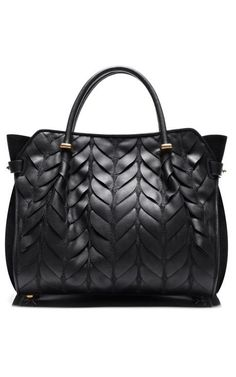 Quilted Calfskin Marche Small Bag by Nina Ricci .